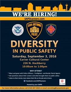 Diversity in Public Safety