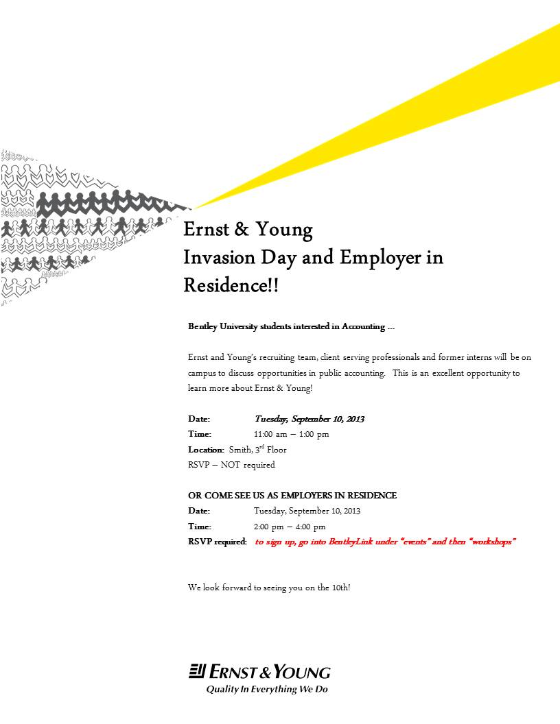 Ernst And Young  Student Room Career