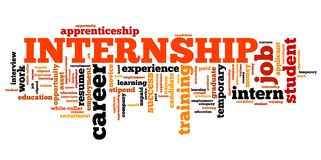 internship-career-issues-concepts-word-cloud-illustration-word-collage-concept-50283655